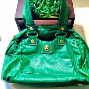 Marc by Marc Jacobs turnlock Leather Bag Preowned
